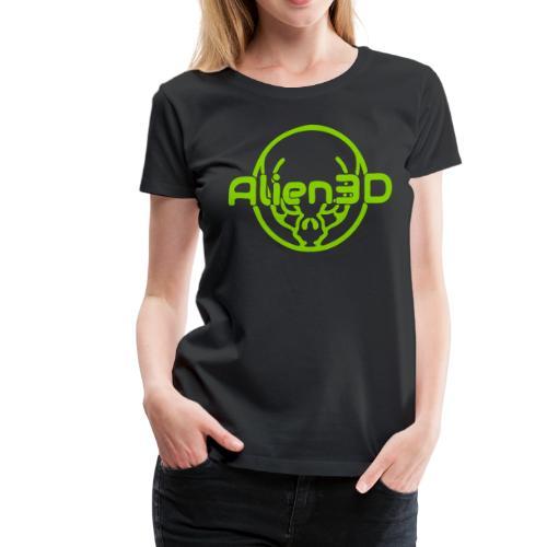 Alien3D Logo - Women's Premium T-Shirt