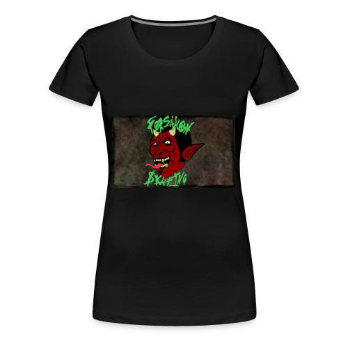 Forsaken Skating - Women's Premium T-Shirt