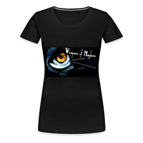 Mayhem Eye Shirt - Women's Premium T-Shirt