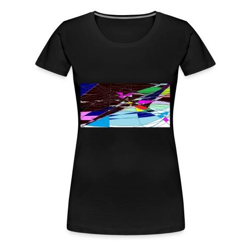 my world - Women's Premium T-Shirt