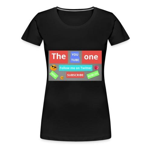 The one subscribe shirt - Women's Premium T-Shirt