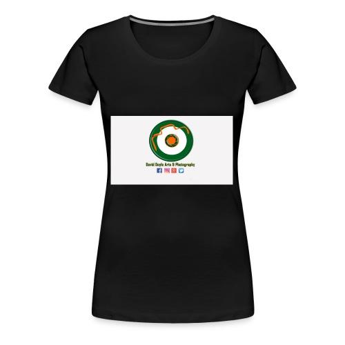 David Doyle Arts & Photography Logo - Women's Premium T-Shirt