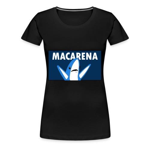 macarena shark - Women's Premium T-Shirt