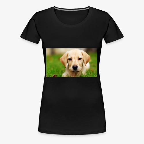 cute puppy - Women's Premium T-Shirt