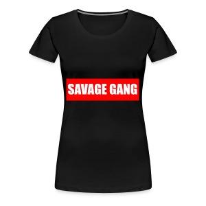 savage gang - Women's Premium T-Shirt