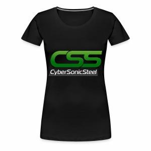 CyberSonicSteel Logo - Women's Premium T-Shirt