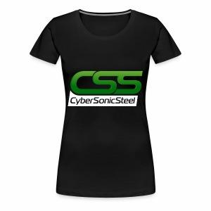 CyberSonicSteel - Women's Premium T-Shirt