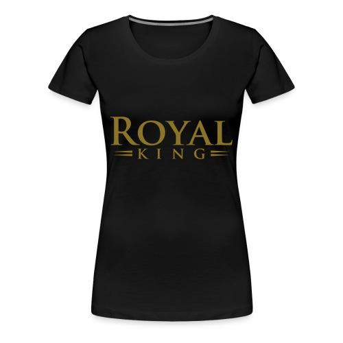 Royal King - Women's Premium T-Shirt