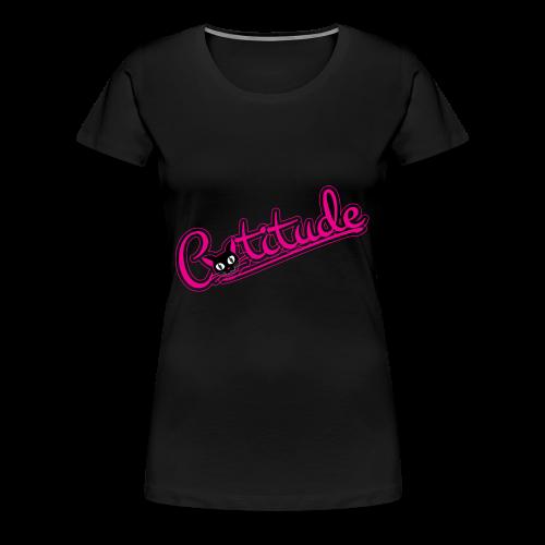 Catitude - Women's Premium T-Shirt