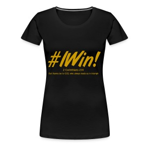 Golden Victory - Women's Premium T-Shirt
