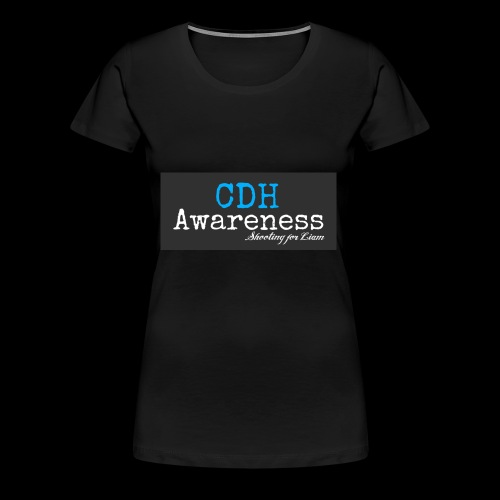 CDH Awareness - Women's Premium T-Shirt