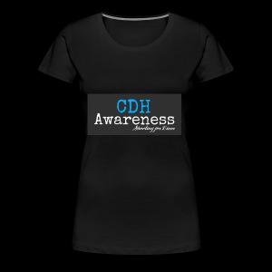CDH Awareness - Women's Premium T-Shirt