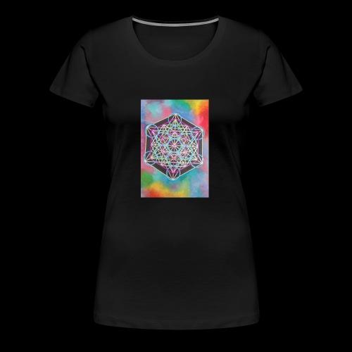 The Cube - Women's Premium T-Shirt