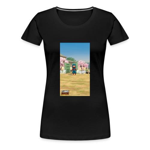 Clumsy ninja hoodie - Women's Premium T-Shirt