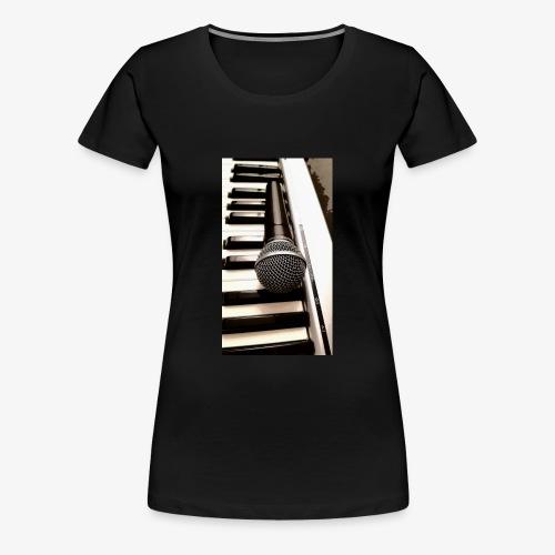 Mic and keys - Women's Premium T-Shirt