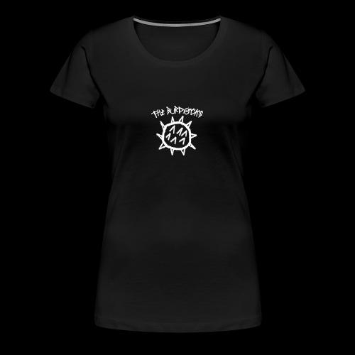 the burdocks logo white - Women's Premium T-Shirt