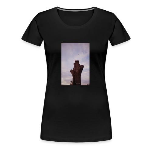 Brown Chirps - Women's Premium T-Shirt