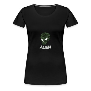 Military Alien - Women's Premium T-Shirt