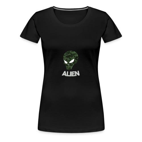 Military Alien - Women's Premium T-Shirt