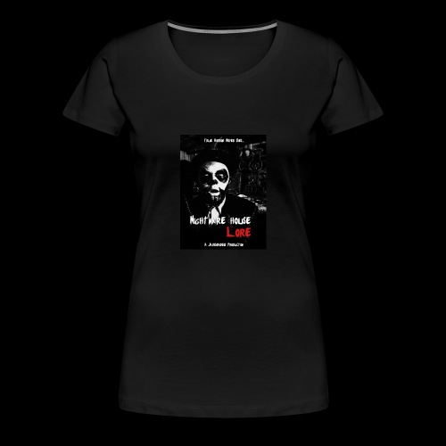 Nightmare House Lore Dr. Voodoo Poster - Women's Premium T-Shirt