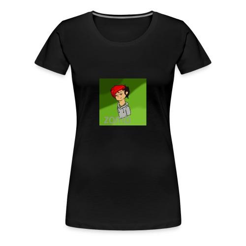 zomb is nere - Women's Premium T-Shirt