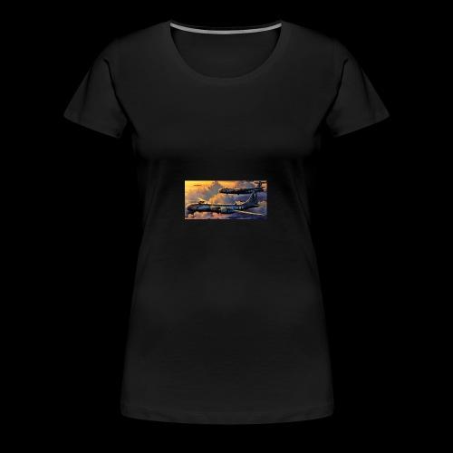 Boeing B29 - Women's Premium T-Shirt