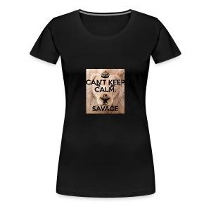 cant keep calm im a savage - Women's Premium T-Shirt