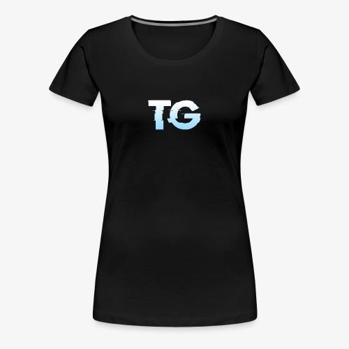 Initials - Women's Premium T-Shirt