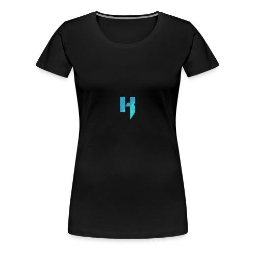 YouTube Channel Logo - Women's Premium T-Shirt
