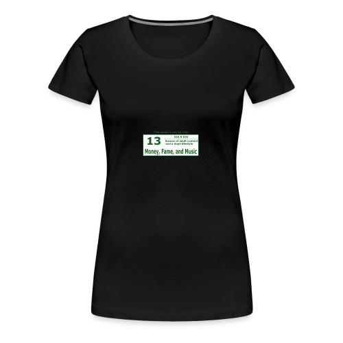 13 K Band - Women's Premium T-Shirt