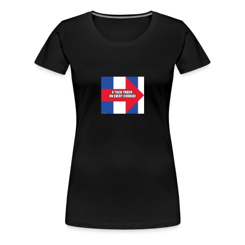 H_taco - Women's Premium T-Shirt