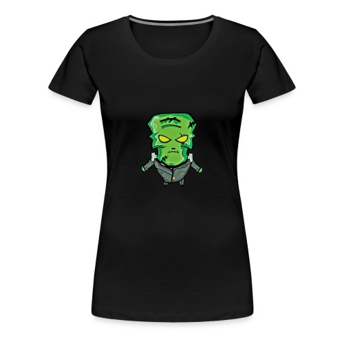 Frankenstein Halloween print - Women's Premium T-Shirt