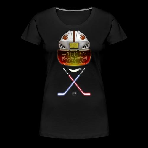 Puck Wars - Rebel - Women's Premium T-Shirt