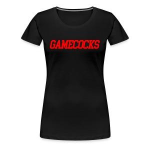 GAMECOCKS - Women's Premium T-Shirt