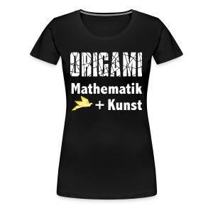 Origamiformel: Mathematik und Kunst - Women's Premium T-Shirt