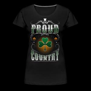 I'm Proud of My Country - Women's Premium T-Shirt