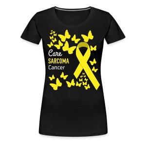 Sarcoma Cancer Awareness - Women's Premium T-Shirt