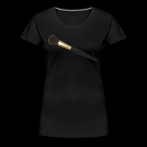 makeupbrush - Women's Premium T-Shirt