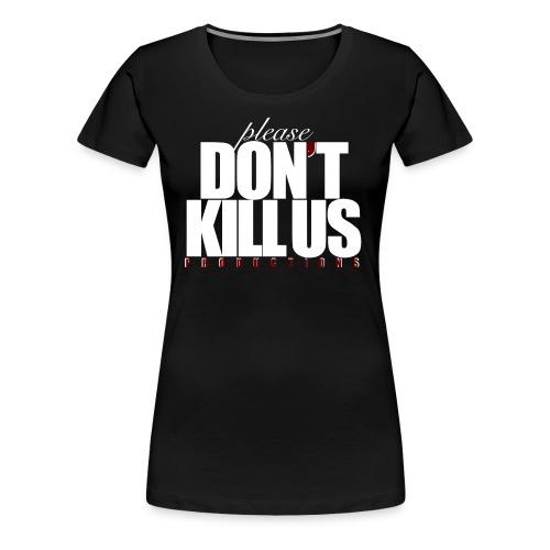 PDKUP White Logo - Women's Premium T-Shirt