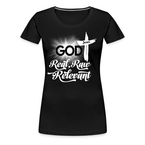 REAL RAW RELEVANT - Women's Premium T-Shirt