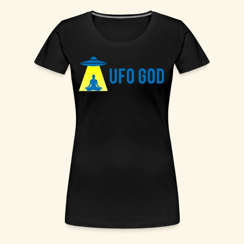 UFO GOD - Women's Premium T-Shirt