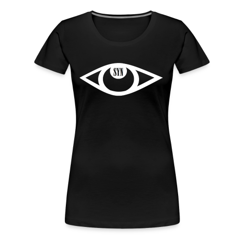 Syn Logo White - Women's Premium T-Shirt