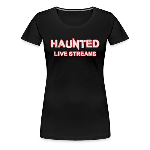 Official Haunted Live Streams Logo - Women's Premium T-Shirt