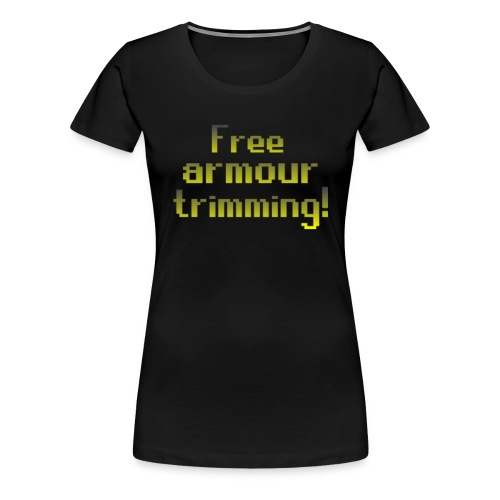 on top free armour - Women's Premium T-Shirt