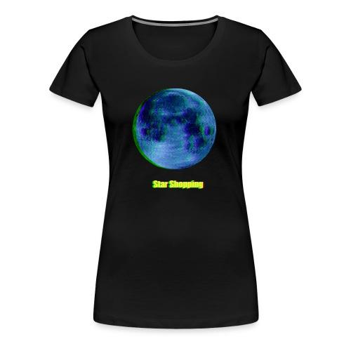 moon - Women's Premium T-Shirt