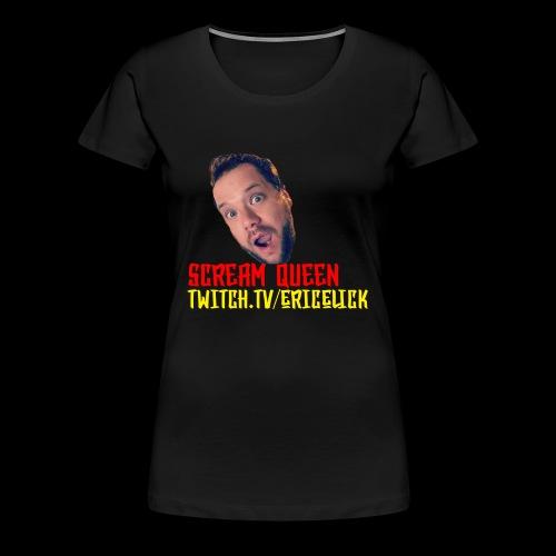 scream queen shirt - Women's Premium T-Shirt