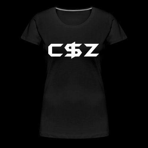 C$Z B&W - Women's Premium T-Shirt