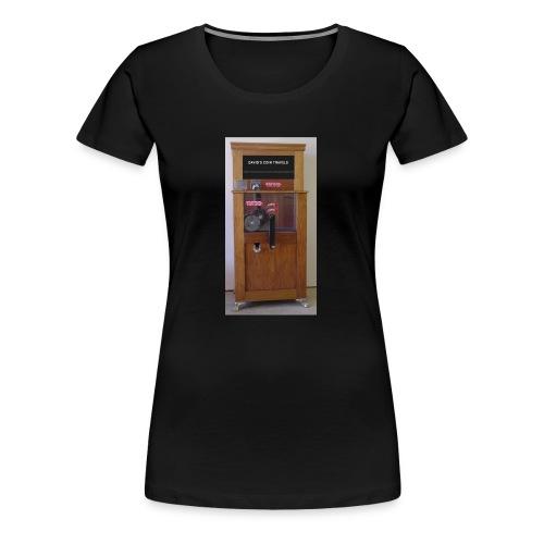 Davids Coin Machine - Women's Premium T-Shirt