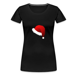 Carmaa Santa Hat Christmas Apparel - Women's Premium T-Shirt
