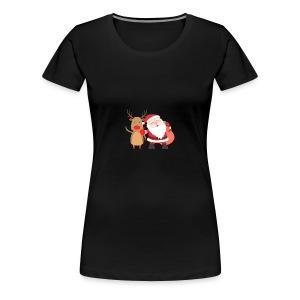 christmas - Women's Premium T-Shirt